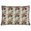 Image of Tropical Hibiscus Flowers Dog Pet Bed