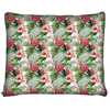 Image of Hibiscus and Tropical Floral Dog Bed