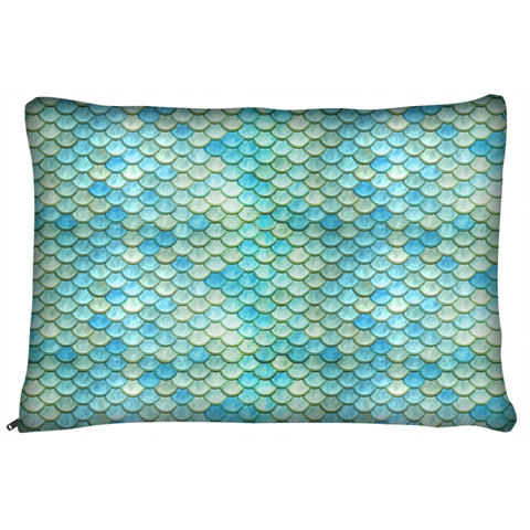 Mermaid Scales Dog Pet Bed