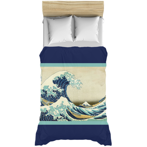 Great Wave off Kanagawa Duvet Cover
