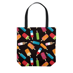 Summer Popsicles and Ice Cream Tote Bag