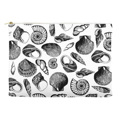 Vintage Seashells Accessory Pouch