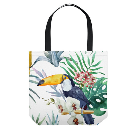 Toucan Beach Tote Bag