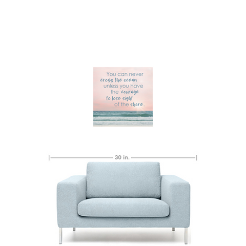 Cross The Ocean Premium Canvas Art Gallery Wrap