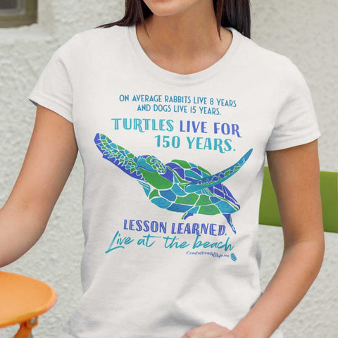 Sea Turtle T Shirt Advice From A Sea Turtle Beach Ocean Lover Gift Birthday Christmas Holiday