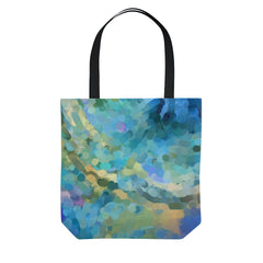 Ocean Abstract Tote Bag