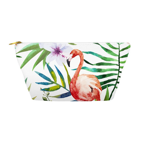 Tropical Flamingo Accessory Bag