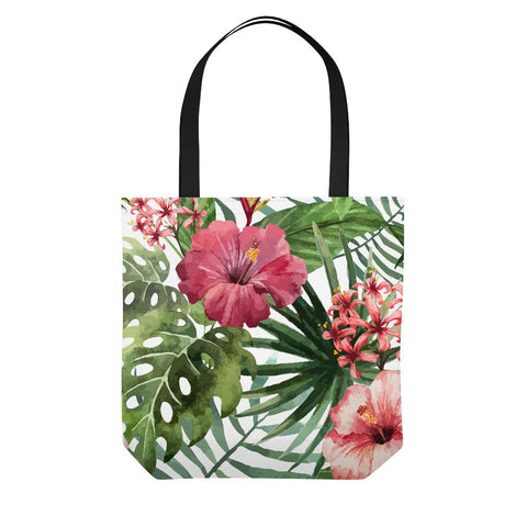 Hibiscus Flowers Tote Bag