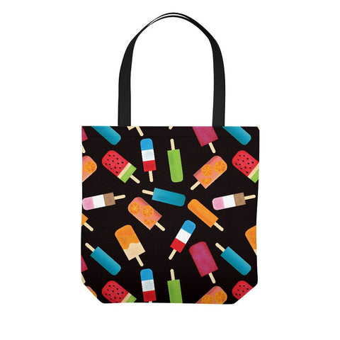 Popsicles and Ice Cream Tote Bag