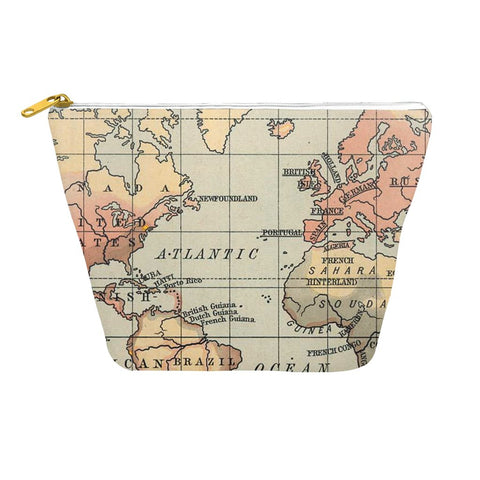 World Vintage Map Travel Organizer