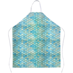 Mermaid Scales Apron