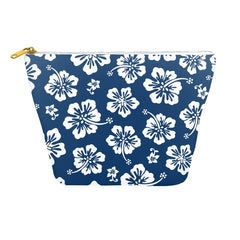 Navy Blue Hibiscus Dopp Kit
