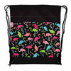 Image of Flamingo Birds Drawstring Bag