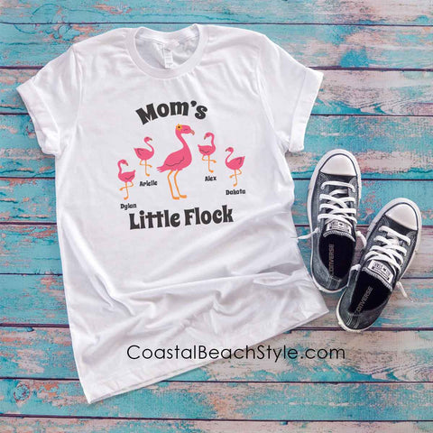 Personalized Flamingo Shirt for Grandma, Mom or Teacher