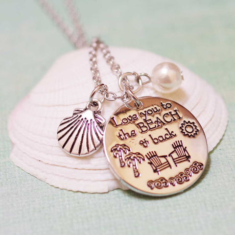 Love You To The Beach And Back Necklace