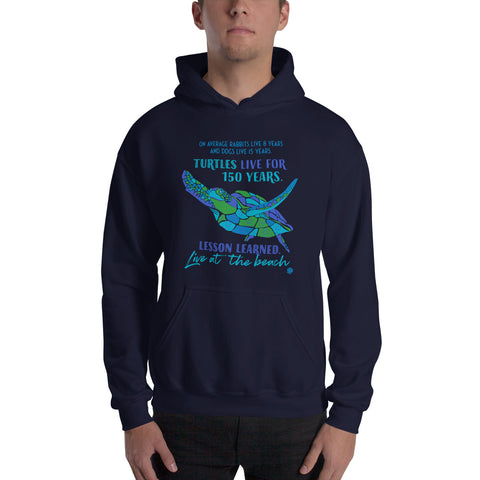 Sea Turtle Advice Beach Ocean Hoodie