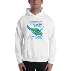 Advice from a Sea Turtle Beach Ocean Lover's Hoodie Birthday Holiday Christmas Gift