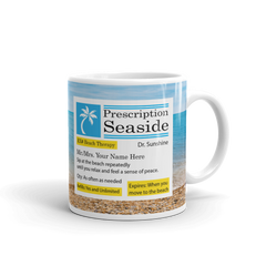 Personalized Prescription Beach Mug