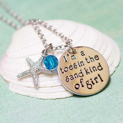 Toes in the Sand Beach Necklace