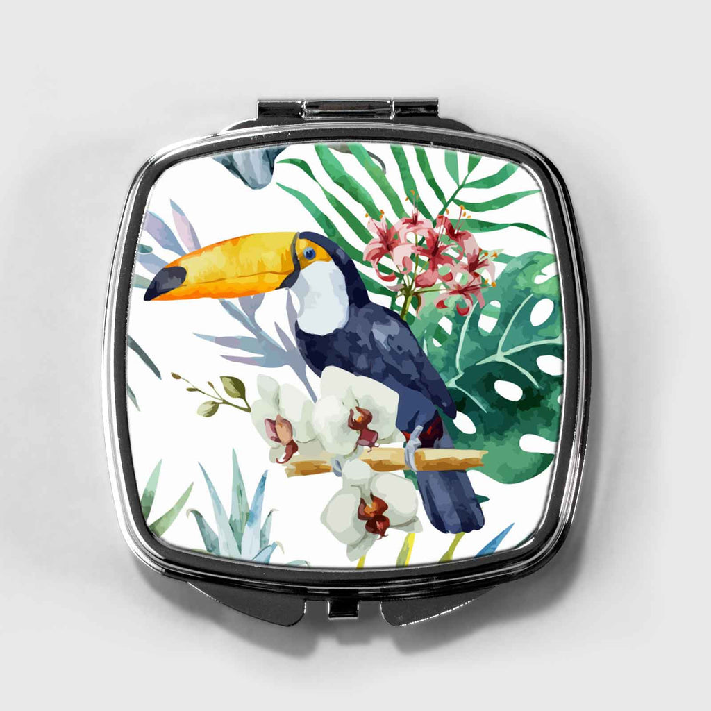 Toucan Bird Compact Mirror