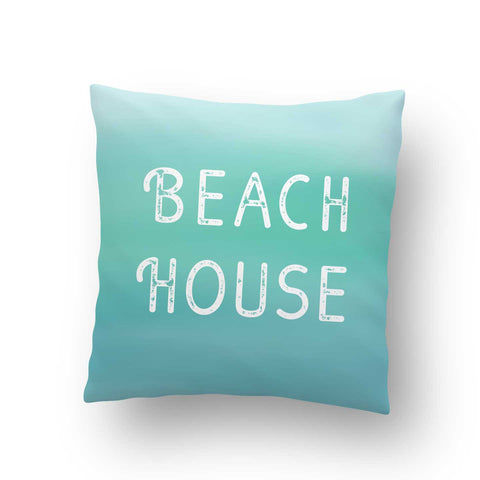 Beach House Indoor Throw Pillow Cover