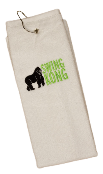 SwingKong Grommeted Golf Towel