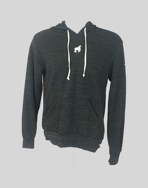 SwingKong Charcoal Eco-Fleece Hoodie