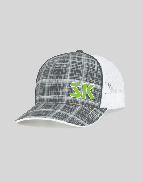 SwingKong Crosshatch Snap Back Hat