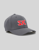 SwingKong Bold SK Fitted Fabric Hat