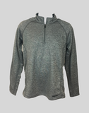 SwingKong Grey Space Dyed Quarter Zip