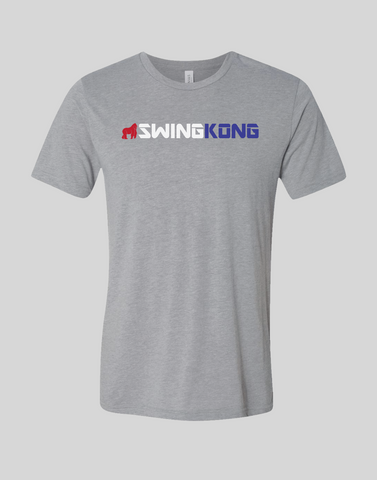 SwingKong Red, White, and Blue T