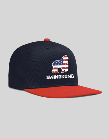 SwingKong RWB Patriot Hat