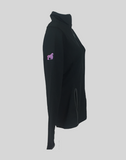 SwingKong Ladies Black Full Zip Jacket