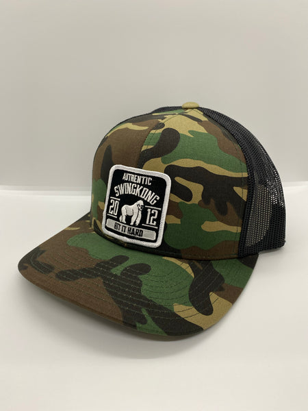 SWINGKONG Authentic patch camo hat