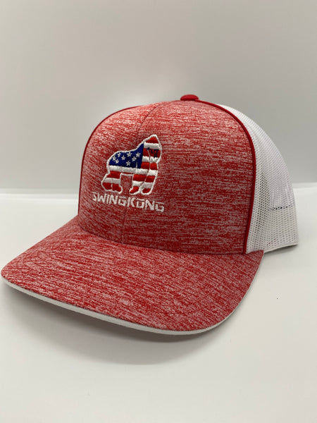 American Flag SnapBack Gorilla (Red)