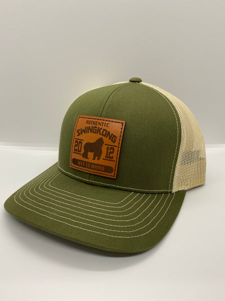 SWINGKONG Authentic brown patch  SnapBack