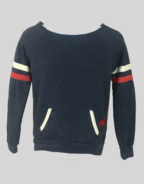 SwingKong Navy Eco-Fleece Sweatshirt