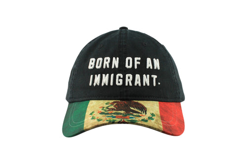 BORN OF AN IMMIGRANT HAT
