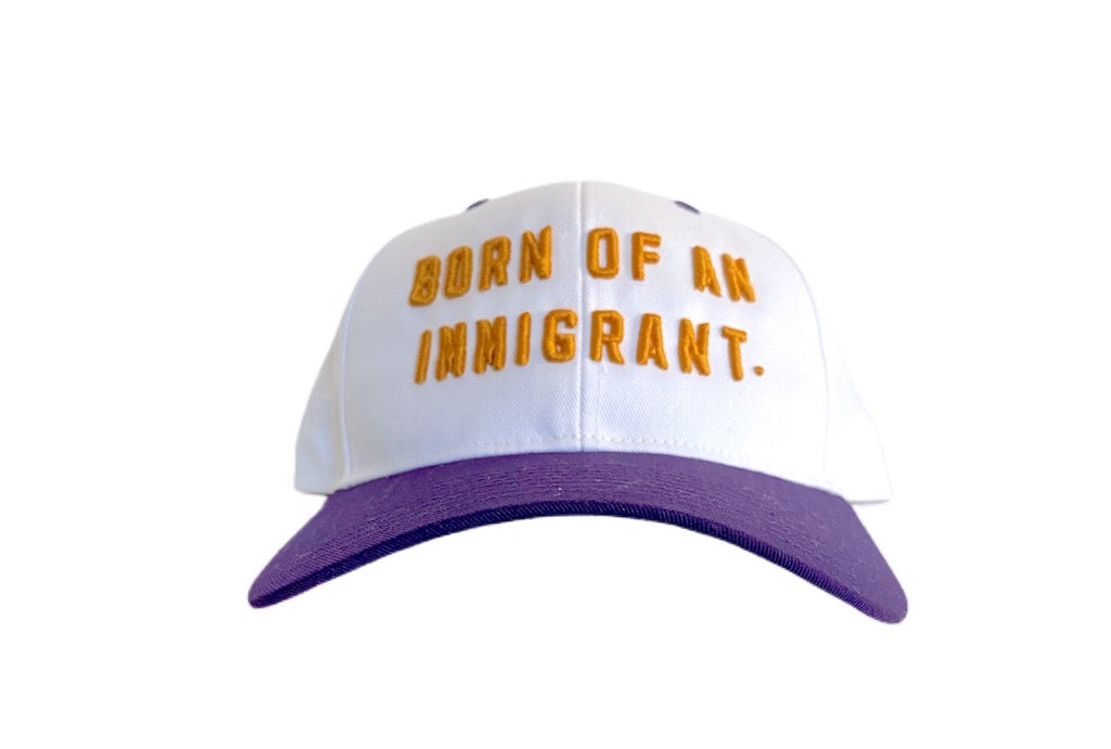 BORN OF AN IMMIGRANT AWAY SNAPBACK