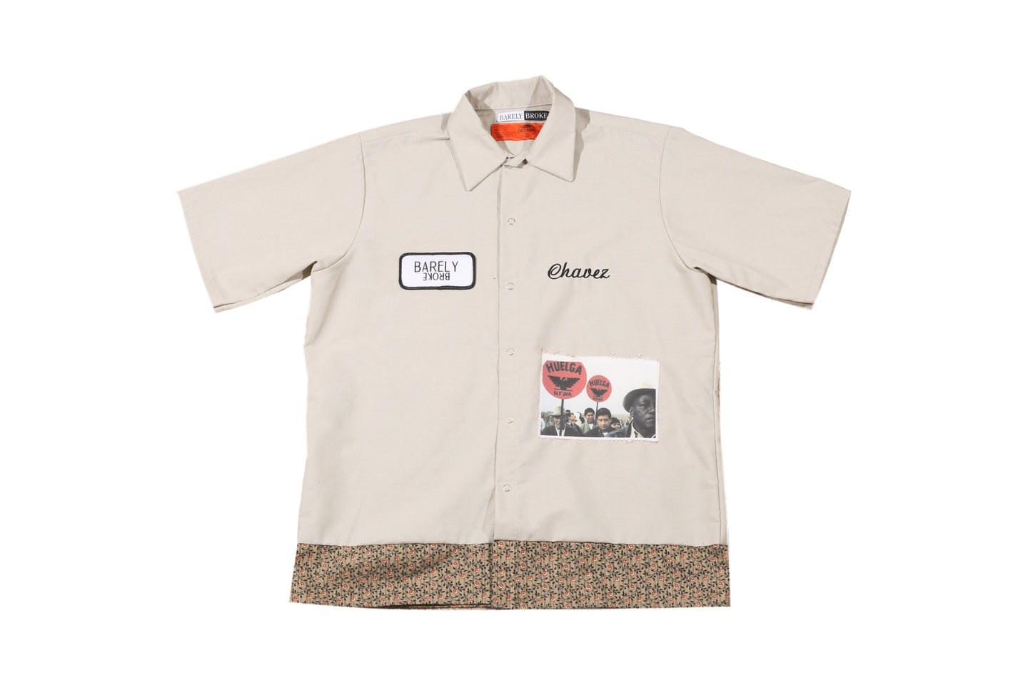 CHAVEZ UFW SHORT SLEEVE WORK SHIRT