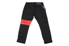 BFA BLACK RAW DENIM JEANS