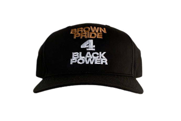 Brown Pride 4 Black Power Snapback