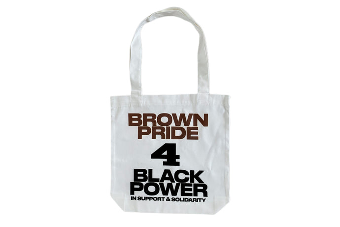 Brown Pride 4 Black Power Tote Bag