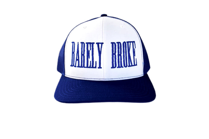 Barely Broke Trucker Royal Cap