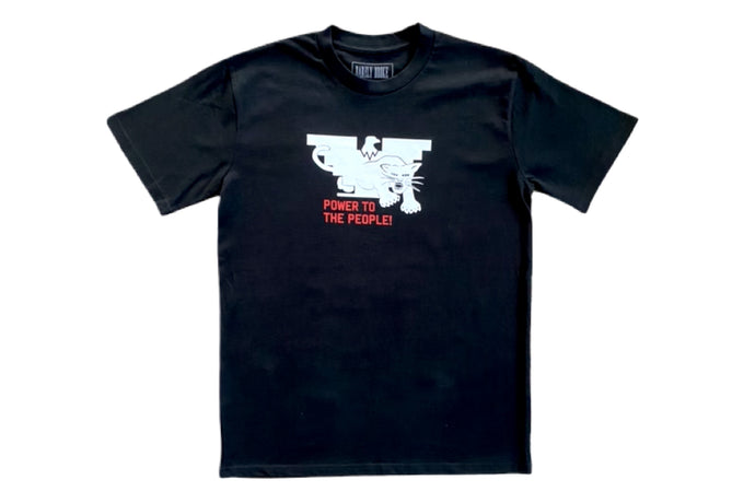 POWER TO THE PEOPLE ALLIANCE BLK T-SHIRT