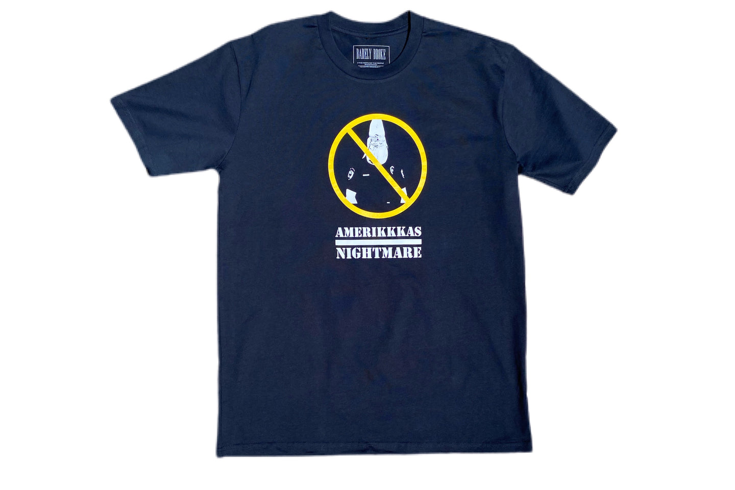 AMERIKKKAS NIGHTMARE Navy 2.0 T-SHIRT