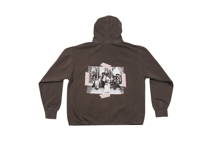 BORN OF AN IMMIGRANT HOODED SWEATER