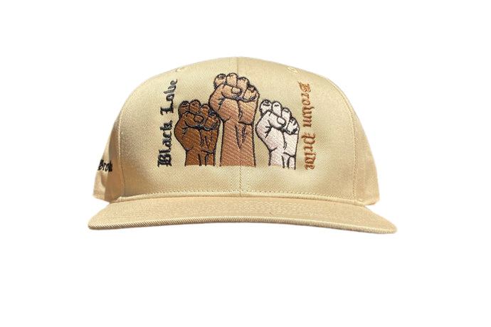 BLACK LOVE BROWN PRIDE TAN HAT