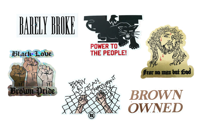 Barely Broke Sticker Pack