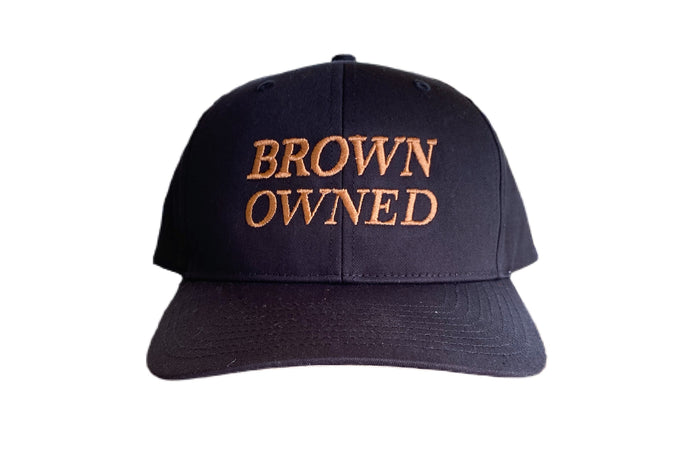 Brown Owned Snapback